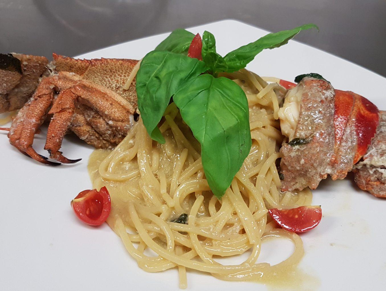 Spaghettone alla cicala di mare