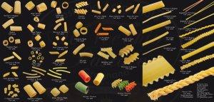 Formati pasta di Gragnano